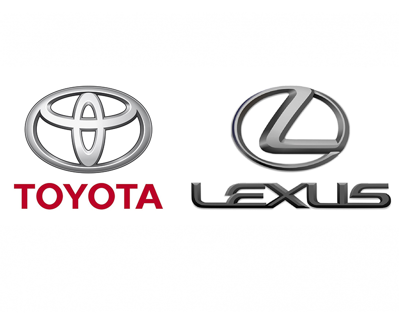 Toyota and Lexus